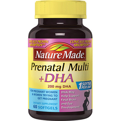 Nature Made® Prenatal Multi + 200 mg DHA