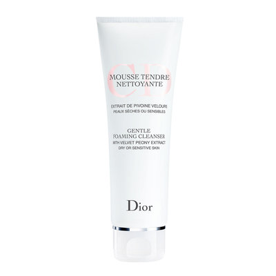 Dior Gentle Foaming Cleanser For Dry Or Sensitive Skin