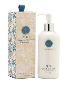 Blue Body Lotion, 12 oz. - Niven Morgan - Blue