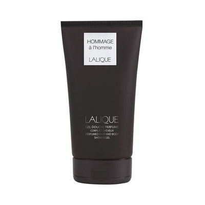Hommage a l'Homme Perfumed Hair & Body Shower Gel Tube Lalique