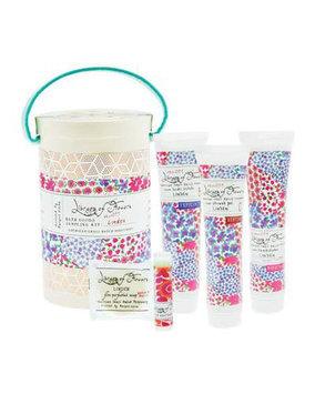 Linden Field Bath Goods Sampling Kit Library of Flowers