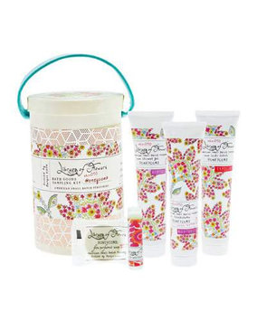 Honeycomb Field Bath Goods Sampling Kit Library of Flowers