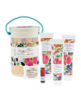 Arboretum Field Bath Goods Sampling Kit Library of Flowers