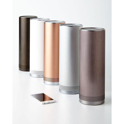 Stelle Audio Pillar Portable Bluetooth Speaker (Metallic Bronze)