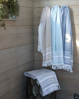 Horchow Fouta Hand Towel - ALMOND (HAND TOWEL)