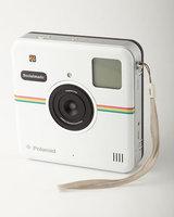 Polaroid - Socialmatic 14.0-megapixel Instant Digital Camera - White