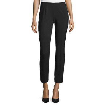 Juliette Slim-Leg Ankle Pants, Women's, Size: 2, Black - Elie Tahari