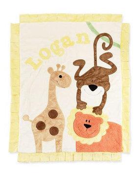 Wild Ones Animal Blanket, Cream - Boogie Baby
