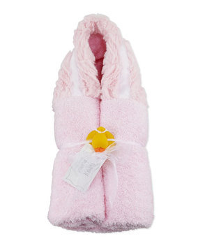 Ziggy Hooded Towel, Pink - Swankie Blankie - Pink (One Size)