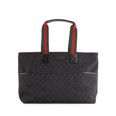 Gucci Travel Diaper Bag Tote w/ Changing Pad