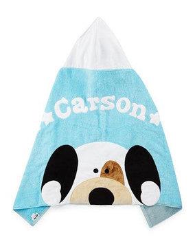 Peek-A-Boo Hooded Towel, Blue - Boogie Baby