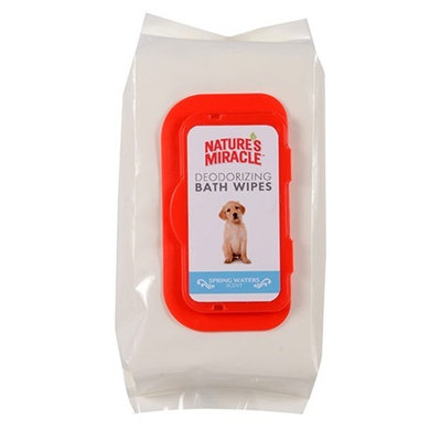 Nature's Miracle® Spring Water Deodorizing Bath Wipes