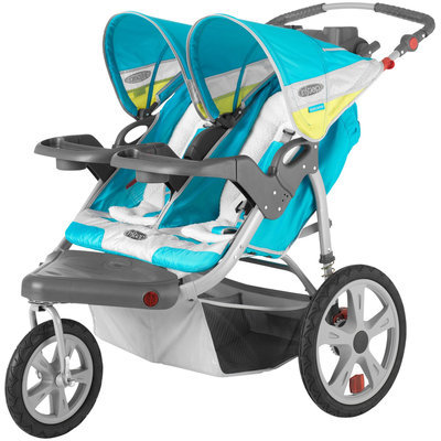 InStep Grand Safari Double Jogging Stroller - Teal
