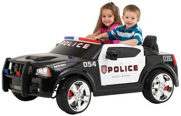 Kid Trax Charger Police Car 12V (Black/White)