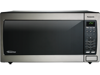 Panasonic REFURBISHED Full Size 1.6 Cu. Ft. Genius Countertop/Built-In Microwave Oven with Inverter Technology, Stainless