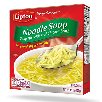 Lipton® Soup Secrets Noodle Soup Mix with Real Chicken Broth