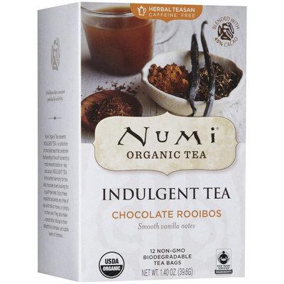Numi Organic Tea Indulgement Tea Bags - Chocolate Rooibos - 12 ct