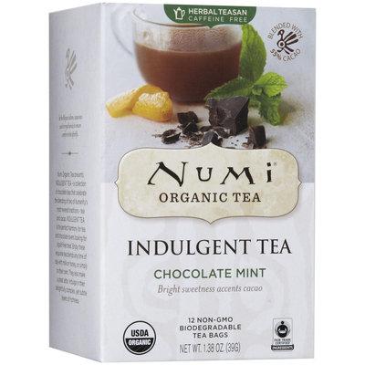 Numi Organic Tea Indulgement Tea Bags - Chocolate Mint - 12 ct