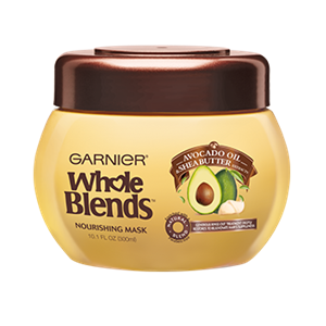 Garnier Whole Blends Avocado Oil & Shea Butter Extracts Nourishing Mask