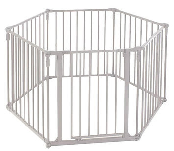 North States Industries 3 in 1 Metal Superyard Gate
