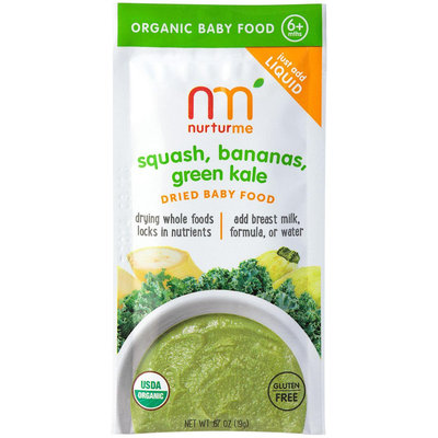 NurturMe Stage 2 Squash, Bananas, Green Kale - 8 pk