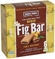 Nature's Bakery - 100 Natural Stone Ground Whole Wheat Fig Bars Mango - 6 x 2 oz. Twin Packs