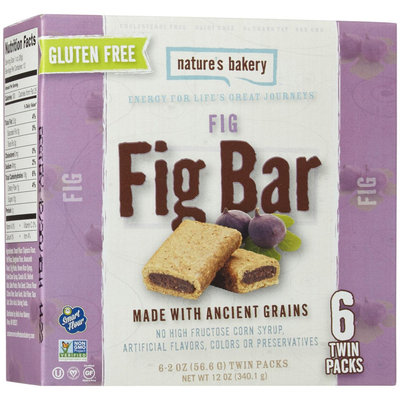 Nature's Bakery FIG BAR, GF, (Pack of 12)