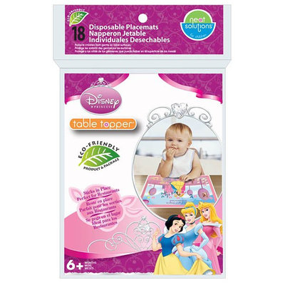 Neat Solutions Table Topper - Disney Princess - 18 ct