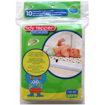 Neat Solutions Tiddy Topper Multi Use Pad - Neatware - 10 ct