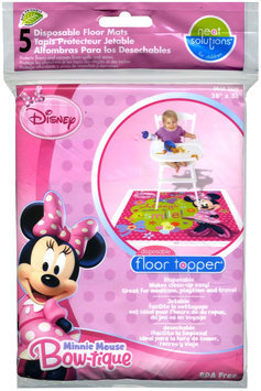 Hamco Neat Solutions Disposable Floor Topper - Minnie Mouse - 5 ct