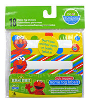Neat Solutions Cup Label Stickers - Sesame Street - 18 ct