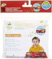 Disney 60 Count Cars Eco Table Topper For Baby