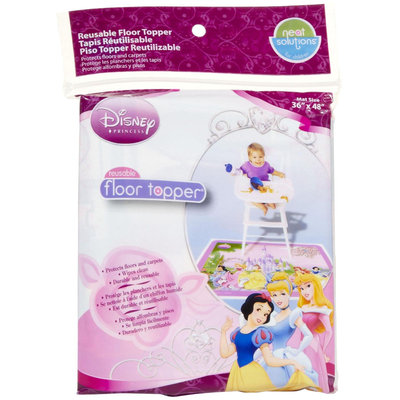 Disney Princess Floor Topper Reusable Mat By Neat Solutions
