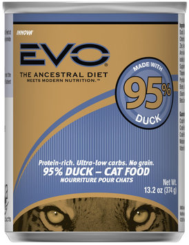EVO 95% Duck Canned Cat Food