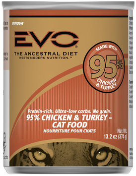 EVO 95% Turkey & Chicken Canned Cat Food