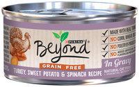 Purina BeyOnd Gravy Grain Free - Turkey Sweet Potato and Spinach Recipe - 12x3 oz