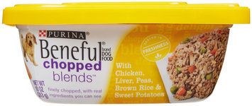 Beneful Chopped Blends Wet Dog Food Chicken Liver