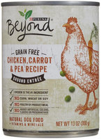 Purina Beyond Ground Entree Grain Free Chicken, Carrot and Pea Recipe