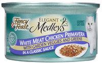 Nestlé Purina Cat Supplies Fancy Feast Elegant Medleys Chicken Primavera