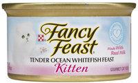 Nestlé Purina Cat Supplies Fancy Feast Kitten Ocean Fsh