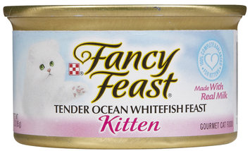 Nestlé Purina Cat Supplies Fancy Feast Kitten Ocean Fsh