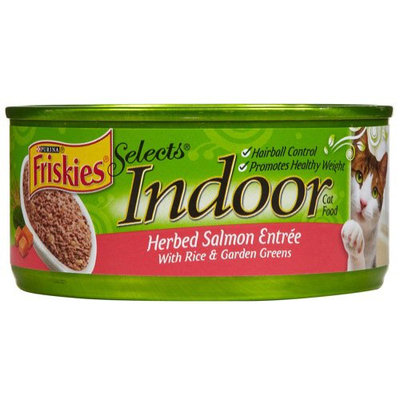 Friskies® Selects Indoor Herbed Salmon With Rice & Garden Greens