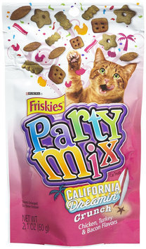 Friskies Party Mix California Dreamin' Crunch Cat Treats 2.1-oz pouch