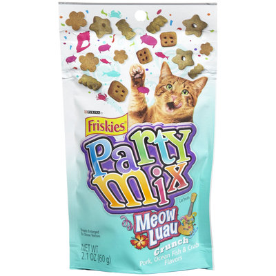 Friskies® Party Mix Meow Luau Crunch Pork Ocean Fish & Crab