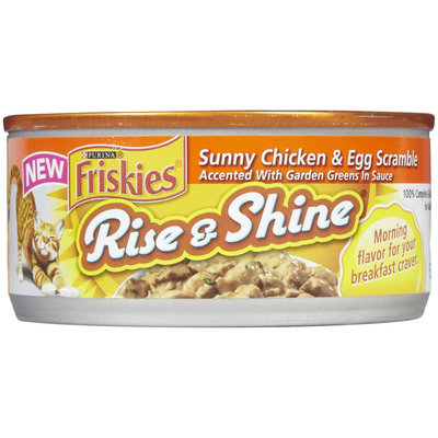 Friskies Rise & Shine Sunny Chicken & Egg Scramble Canned Cat Food