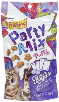 Friskies® Party Mix Puff Treats Meow Royale Lobster Steak and Shrimp