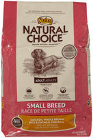 Nutro Small Breed Adult Chicken Whole Brown Rice & Oatmeal Formula