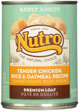 Nutro Adult Chicken, Rice and Oatmeal Canned Dog Food
