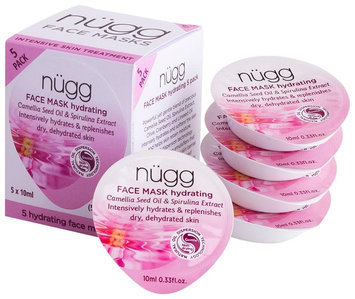 Beauty Ideas Group, Llc nügg Hydrating Face Mask- Camellia Seed Oil & Spirulina Extract - 5 ct