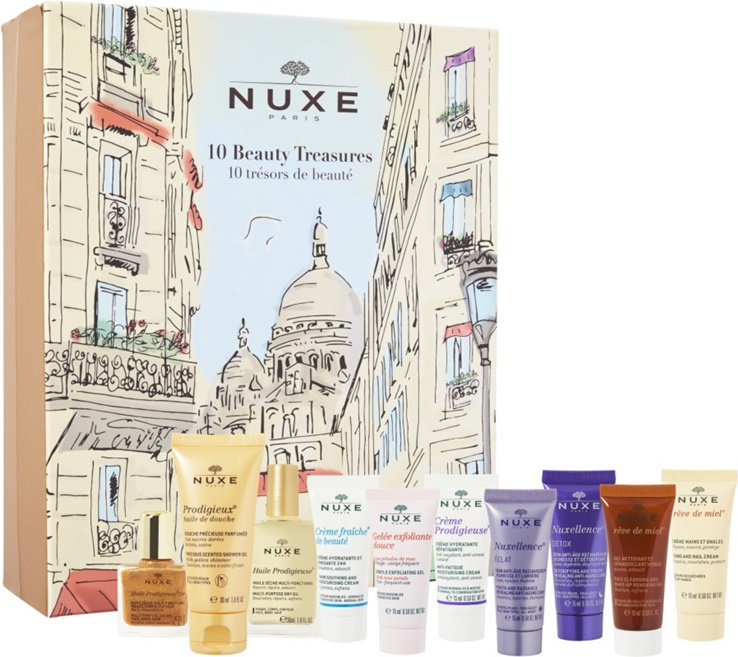 Slide: NUXE Paris 10 Beauty Treasures